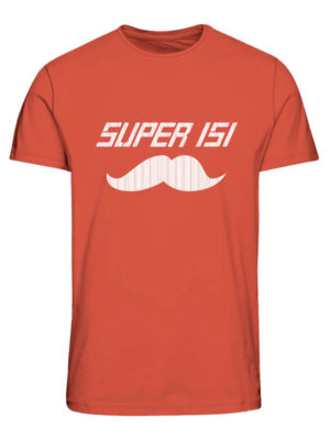Punainen Super Daddy -paita - JORFATHERS TEE
