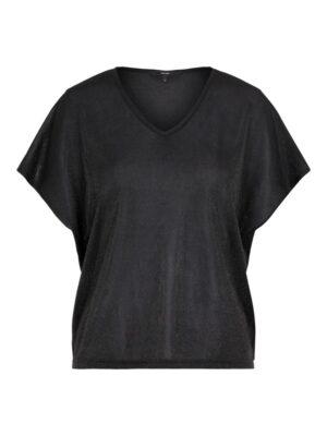 Musta glitterkoristeltu paita - VMDENISE
