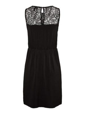 Musta pitsikoristeltu mekko - VMMILLA