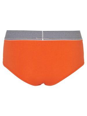 Oranssit hipster-alushousut - NMEVA HIPSTER