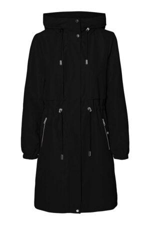 Musta hupullinen takki - VMLINNEA