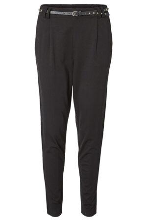 Mustat housut vyön kera - VMKELLY PANT