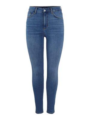 Siniset skinny fit -farkut - PCNORA LB134-BA