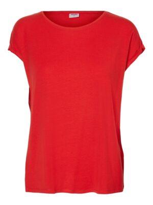 Punainen rento t-paita - VMAVA PLAIN