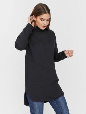 Musta poolokauluksinen paita - VMGAZALA