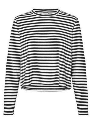 Mustavalkoraidallinen paita - NMELLY