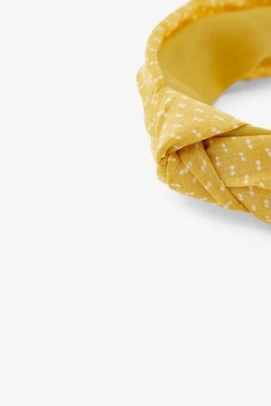 Keltainen hiuspanta - PCNACIE HAIRBAND
