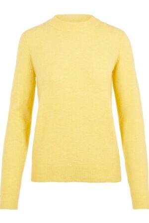 Keltainen neulepusero - PCBELINDA KNIT