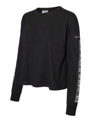 Musta paita printillä - NMODESSA