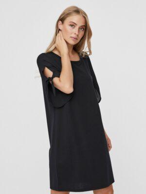 Musta lyhythihainen mekko - VMDANA SHORT DRESS