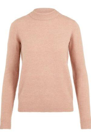 Vaaleanpunainen neulepusero - PCBELINDA KNIT