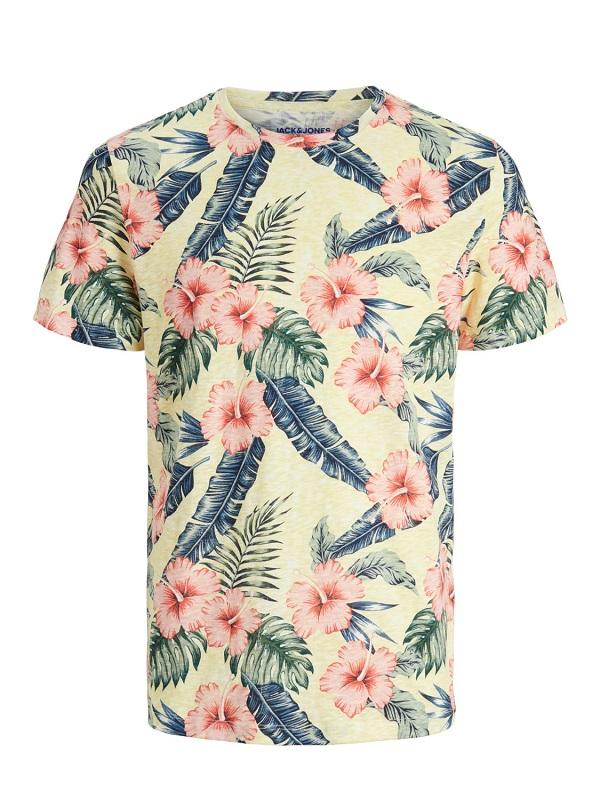 Keltainen luomupuuvillainen t-paita - JORELI ORGANIC TEE