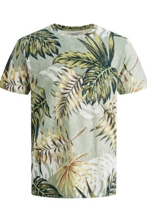Vihreä luomupuuvillainen t-paita - JORELI ORGANIC TEE