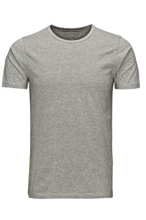 Harmaa t-paita - BASIC O-NECK TEE