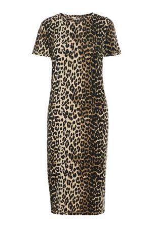 Leopardikuosinen trikoomekko - VMGAVA SS DRESS