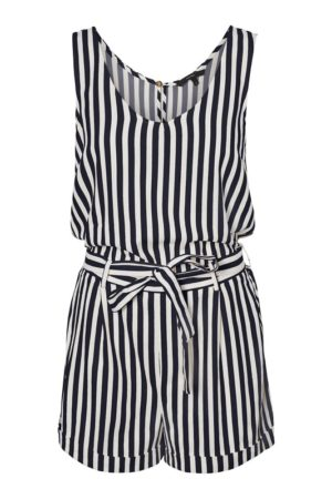 Raidallinen playsuit - VMHELENMILO PLAYSUIT STRIPE