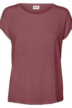 Ruskea rento t-paita - VMAVA PLAIN