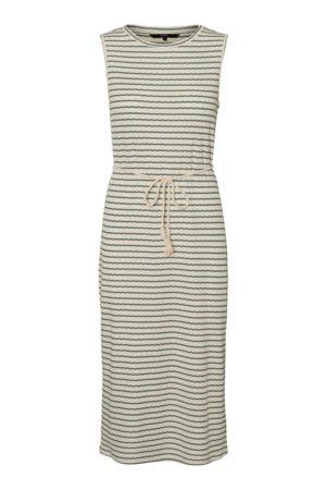Vihreäraidallinen mekko - VMOYA SL CALF DRESS