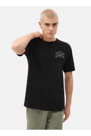 Musta t-paita printillä - DICKIES SLIDELL