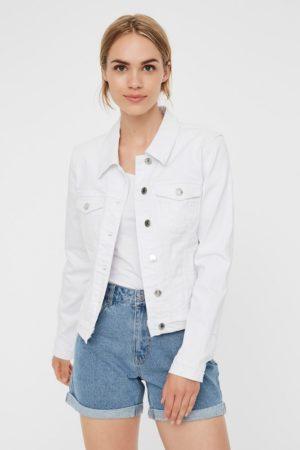 Valkoinen farkkutakki - VMHOT SOYA