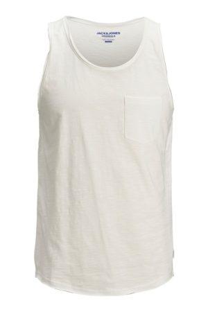 Valkoinen hihaton paita - JORWALLET TANK TOP