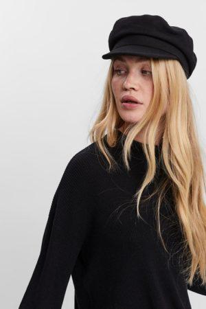 Musta lippalakki - VMSATURN BAKER BOY HAT