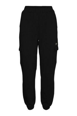 Mustat collegehousut - NMLINO SWEAT PANTS