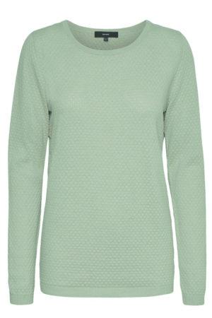 Pastellinvihreä tekstuurillinen paita - VMCARE
