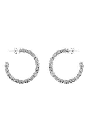 Hopeanväriset korvarenkaat - PCKADEE HOOP EARRINGS
